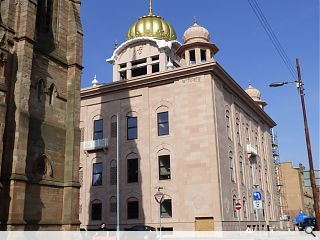 Central Gurdwara Glasgow takes shape