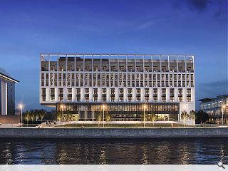 £18m Pacific Quay hotel to reanimate the River Clyde