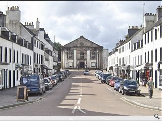 Urban Animation produces Inveraray masterplan