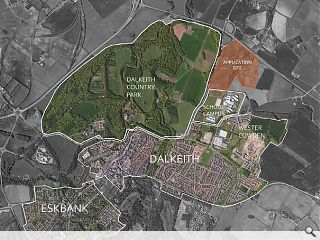 Giant £50m logistics hub to pull Dalkeith north