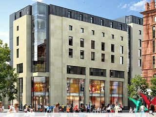 Mothballed St Enoch Square hotel plan dusted off