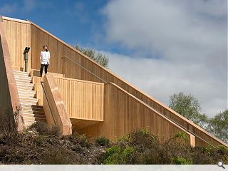 Loch Lomond timber pyramid viewpoint unveiled