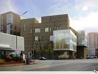 Glasgow Caledonian University lodges campus expansion plan