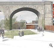 Visitors will be able to access the centre direct from Dalmeny Station via a new timber footbridge