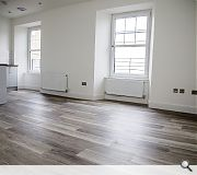 The modernised flats have proven attractive to tenants