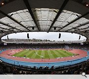 Hampden Park by Holmes Miller and WH Malcolm was recognised for 'adopting systems and techniques never previously used on such a large scale'