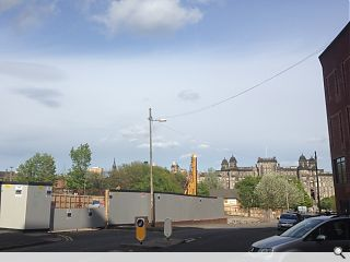 Work gets underway on Townhead's St James Residencies