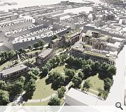 King George V Park will be better integrated within the New Town as a green lung