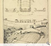 Plans for an open-air theatre on Calton Hill