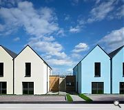 Jaunty colours have been used to impart 'vitality'