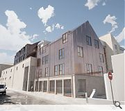 The phase two structure will accommodate additional ground floor commercial units with residential above