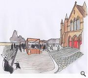 Govan Cross will be transformed into an events space