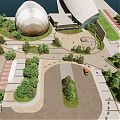 Glasgow Science Centre counts on landscaped grounds to pull in visitors