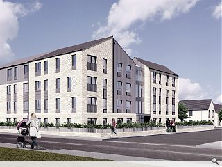 Kirkintilloch affordable homes move on-site
