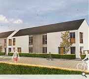 The contemporary homes will be available in a range of sizes to meet local needs