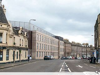 More student homes to complete an unfinished Edinburgh terrace