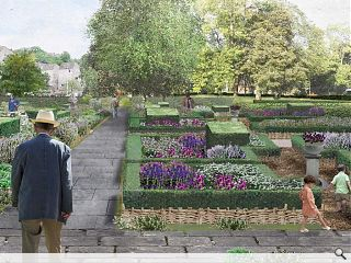 17th century herb garden to be reinstated at the Palace of Holyroodhouse