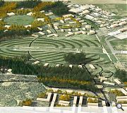 The park will be integrated with both Tornagrain and the airport