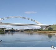 Plans for a bow arch crossing of the River Dee were dropped in favour of a viaduct