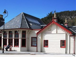 Ballater's Royal Station destroyed in overnight blaze