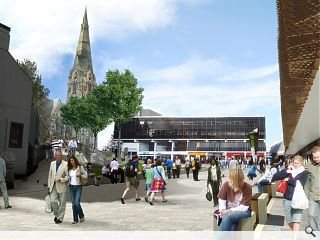 Irvine public realm works commence