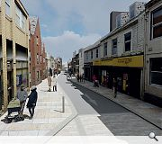 It is estimated that traffic levels on the High Street can be reduced by 75%