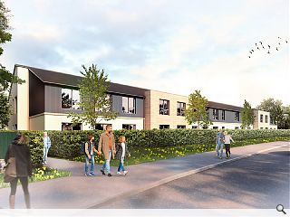 Stirling care home moves on-site