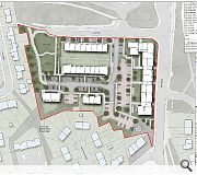 The extensive town centre site has already been cleared awaiting development