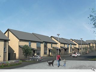 Anderson Bell + Christie advance 48 homes in north Glasgow