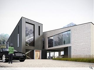 Michael Laird Architects draw up plans for Ravelston Quarry trio