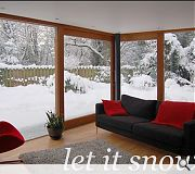 Craig Amy plumped for this wintry scene of their Newbattle Gardens project.