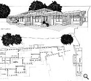 New studios and classrooms are single storey, with circulation and access extrapolated from the existing school plan