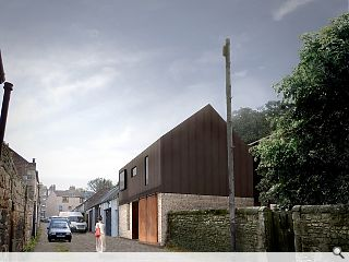 Fabric first Edinburgh home on the fast lane to a low carbon future