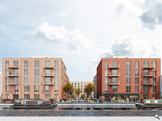 New Fountainbridge takes shape with Freer Street canal quarter