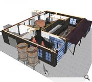 The as-yet unnamed distillery will also house a retail unit and tasting rooms