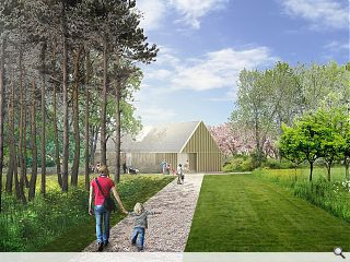 Playful Brodie Castle plan hits the ground running