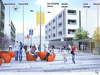Airdrie, Coatbridge & Cumbernauld town centre vision outlined