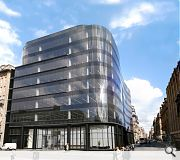 23,000sq/ft of retail frontage will be added to Ingram Street, drawing pedestrains east from Buchanan Street