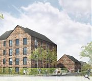 Homes will comprise a mix of terraces and flatted accommodation