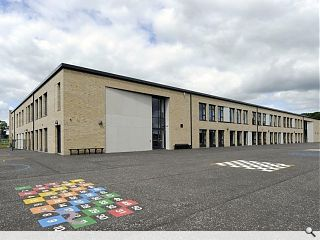 Crieff Primary School officially opened