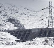 Unfortunate power lines detract from many installations, as here at Ben Cruachan