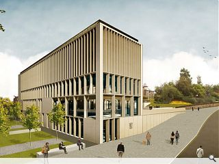 Falkirk Council press ahead with new HQ
