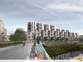 Second round proposals presented for Water of Leith flats
