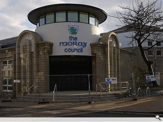 Moray Council HQ completes