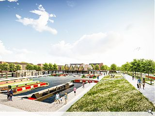 Winchburgh Marina canal quarter breaks ground