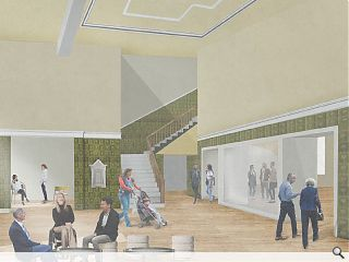 Consultation underway for Langside Halls community hub & events space