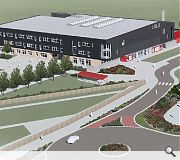 The new school forms part of a larger 'education campus'