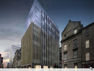 'Ethereal' Glasgow hotel to bulk up city centre grid