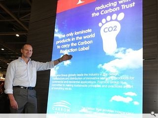 Formica Group awarded Carbon Trust carbon reduction label