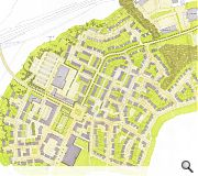 The plans for 500 new homes are significantly scaled back from an earlier bid to build 1,500 homes on the site.